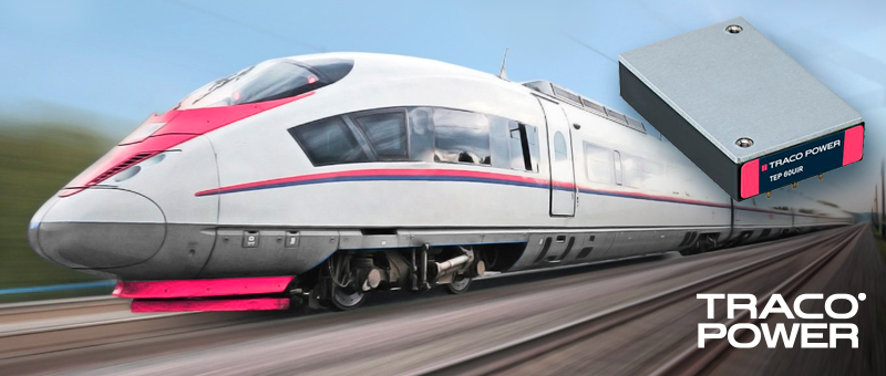 TEP 40/60UIR – новый тип DC/DC с ультрашироким входом от TRACO для подвижного состава