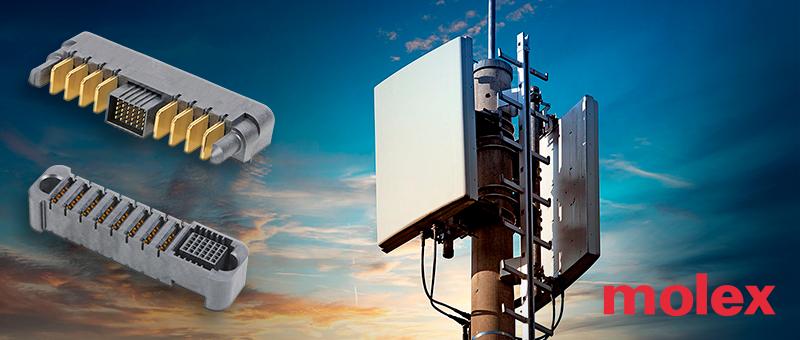 Комбинированные разъемы Molex семейства EXTreme Power для сильноточных применений