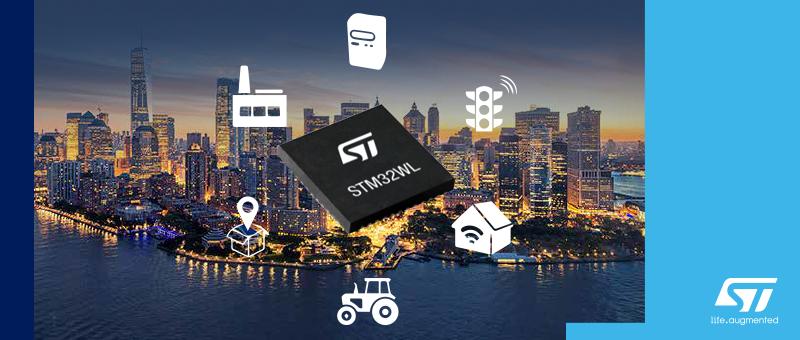 STM32WL55 — первая в мире SoC для сетей LoRa 433/868 МГц