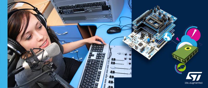 X-NUCLEO-IKS02A1 – плата для оценки индустриальных MEMS-датчиков